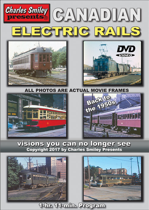 Canadian Electric Rails 1950's