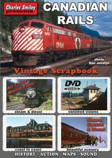 Canadian Rails Vintage Scrapbook