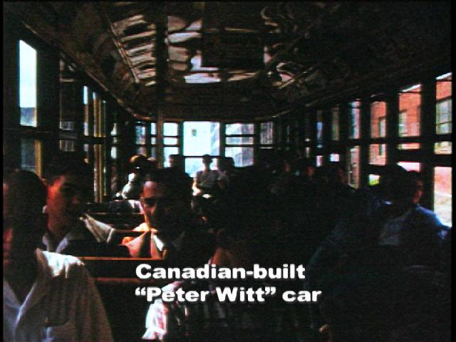 Inside Peter WItt Car 1950's